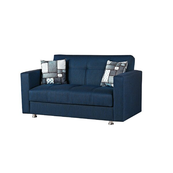 Aadhan 64'' Square Arm Loveseat By Latitude Run
