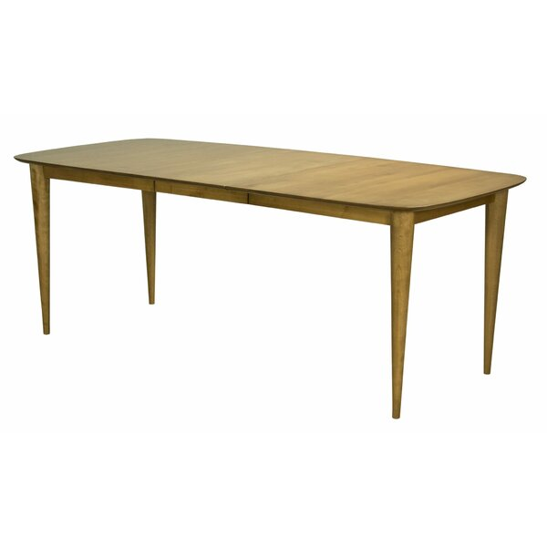 Couey Extendable Solid Wood Dining Table by George Oliver