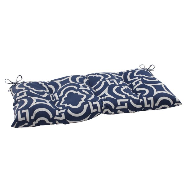 Carmody Indoor/Outdoor Loveseat Cushion by Pillow Perfect