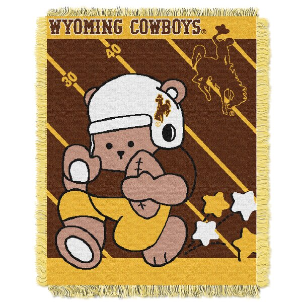 Collegiate Wyoming Baby Throw by Northwest Co.