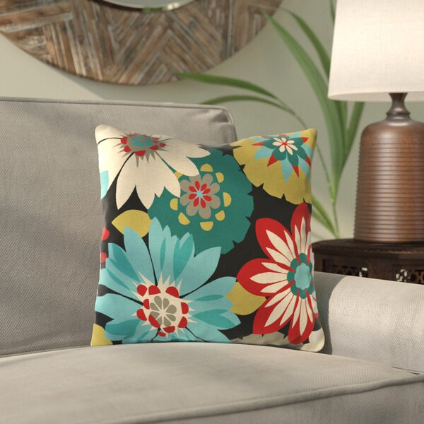 Tissir Outdoor Throw Pillow (Set of 2) by Bungalow Rose| @ $41.99
