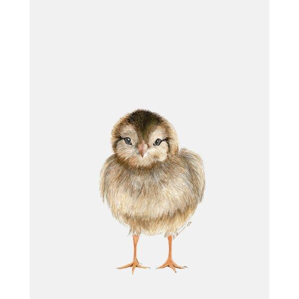 Chyna Baby Chick Portrait by Brett Blumenthal Canvas Art by Ebern Designs