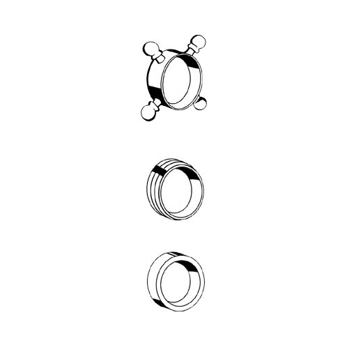 Decorative Cross Handle Ring by Grohe