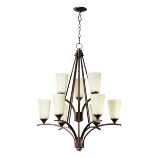 Winslet 6-Light Shaded Chandelier by Quorum