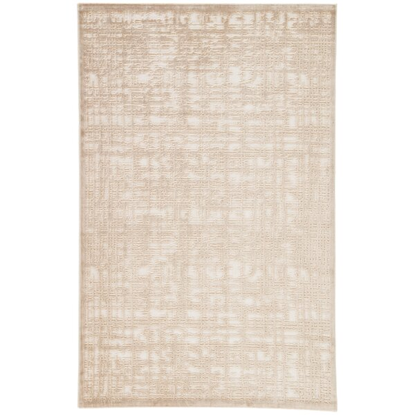 Oak Ivory/Beige Area Rug by Trent Austin Design