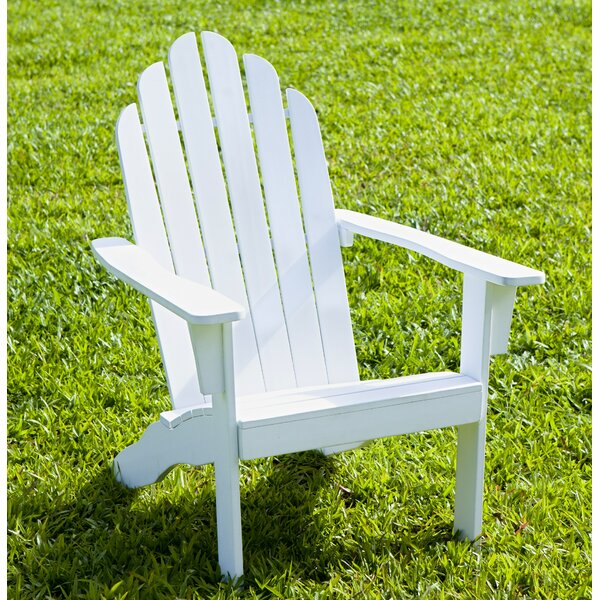 Solid Wood Adirondack Chair by HRH Designs