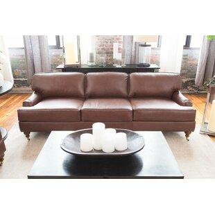 Athens Leather Sofa
