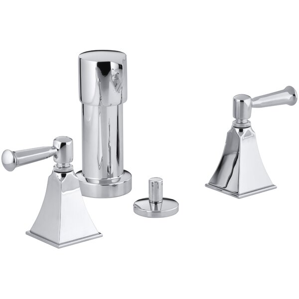 Memoirs Stately Vertical Spray Bidet Faucet with Lever Handles by Kohler