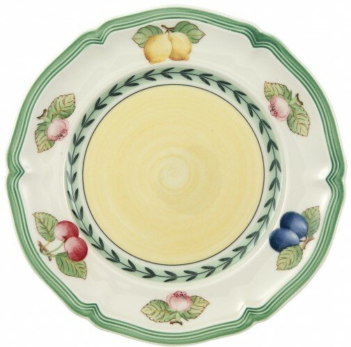 French Garden Fleur 6.5 Bread and Butter Plate by Villeroy & Boch
