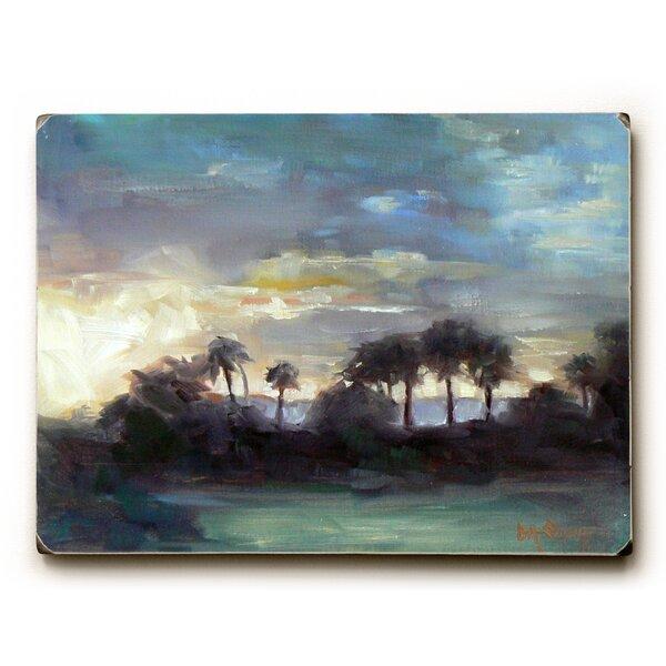 Sundown Painting Print by Bay Isle Home