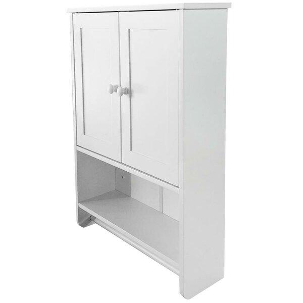 Einya 19 W x 26 H x 6 D Wall Mounted Bathroom Cabinet