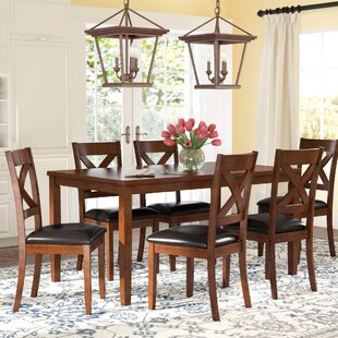 Charmant Nadine 7 Piece Breakfast Nook Dining Set