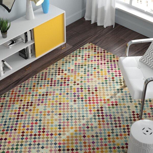 Chenango Yellow Area Rug by Zipcode Design