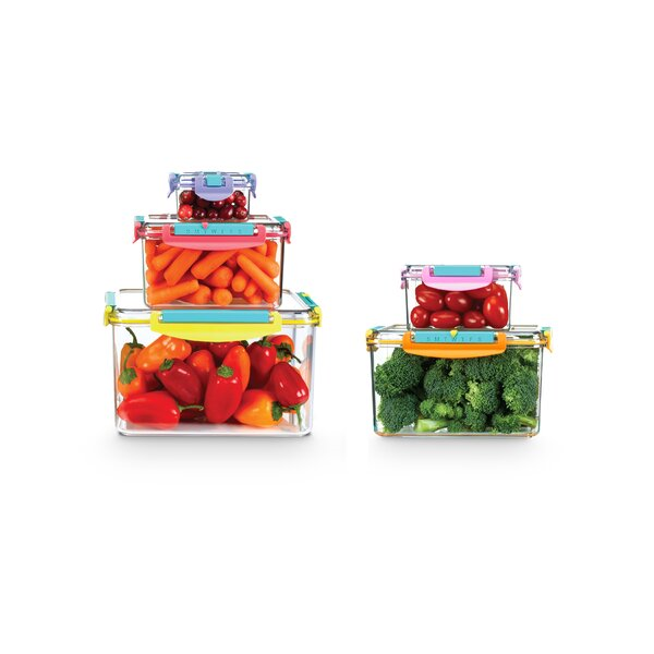 Tiana 5 Container Food Storage Set by Rebrilliant