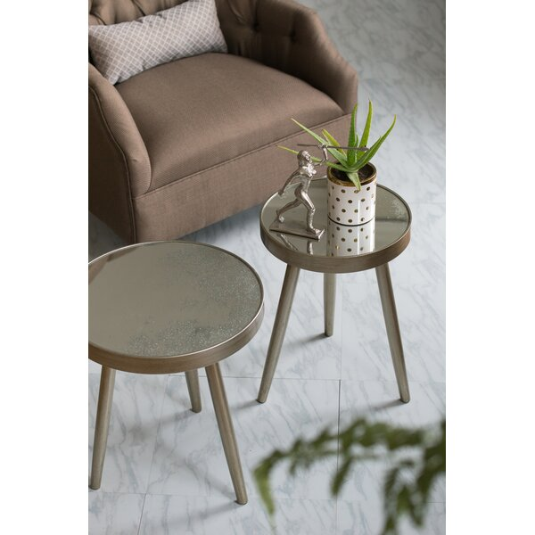 Chagnon End Table by Wrought Studio