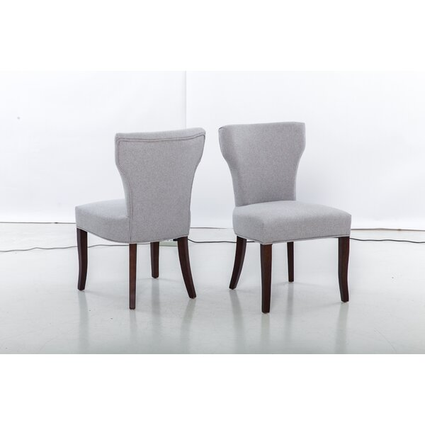 Benno Upholstered Dining Chair (Set of 2) by Alcott Hill