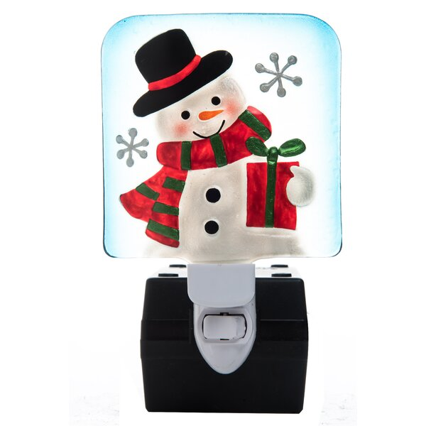 Christmas Snowman Night Light by Transpac