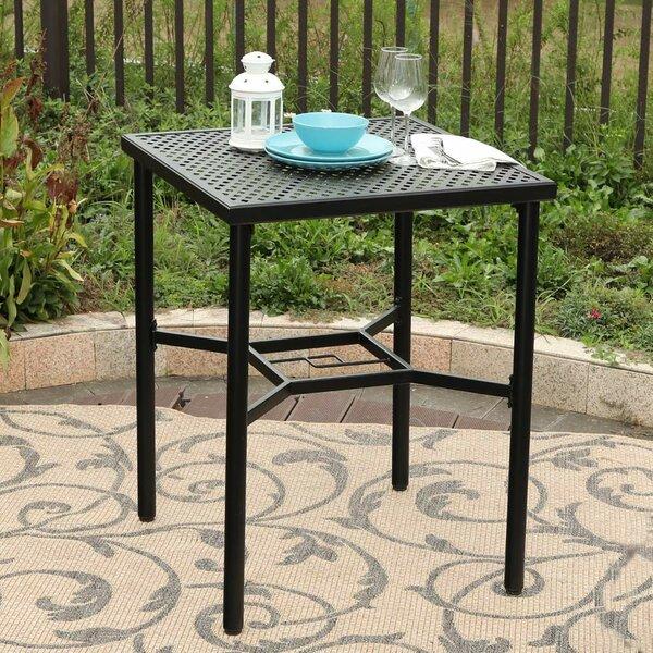 Benesh Metal Bar Table by Winston Porter