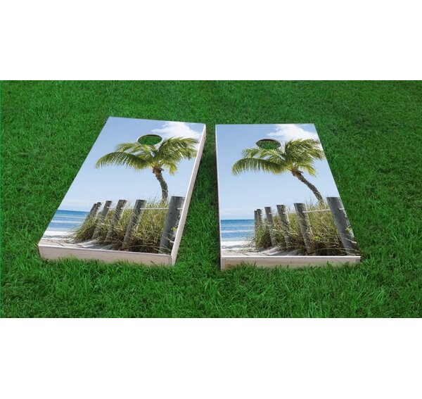 Path to The Seas Light Weight Cornhole Game Set by Custom Cornhole Boards