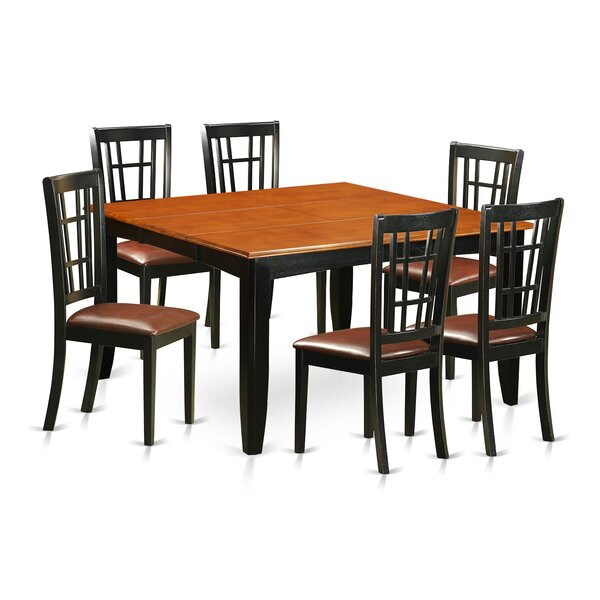 Pilning 7 Piece Extendable Dining Set by August Grove