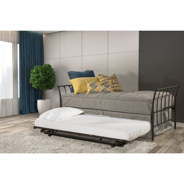 Konivetska Backless Twin Daybed With Trundle By Red Barrel Studio