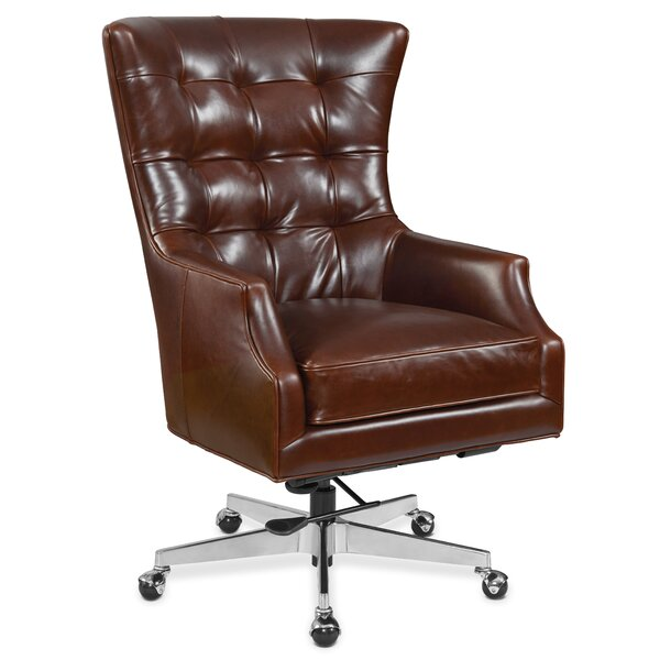 Keaton Genuine Leather Office Chair by Hooker Furniture