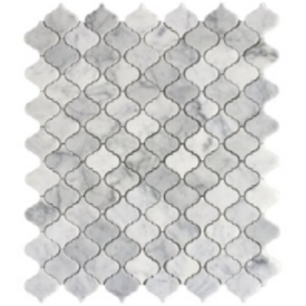 Carrara 12 x 12 Marble Mosaic Tile