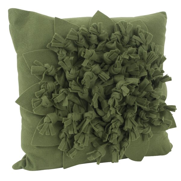 Montrose Felt Throw Pillow by August Grove