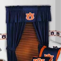 NCAA 88 Auburn Tigers Curtain Valance by Sports Coverage Inc.