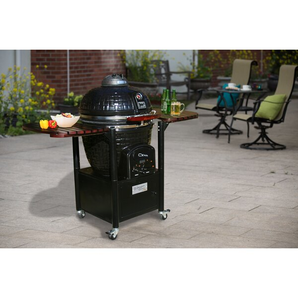 21.5 Signature Series Rendezvous Built-In Kamado Charcoal Grill by Vision Grills