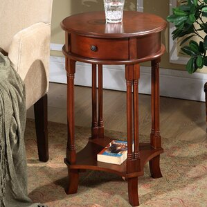 Asheville Round Accent End Table by Darby Ho..