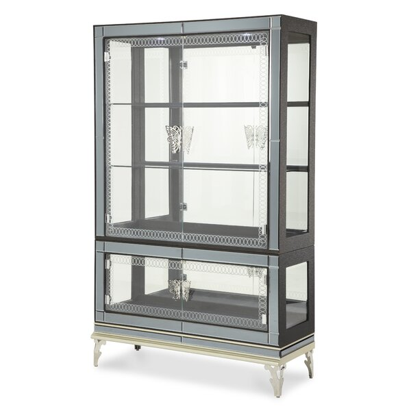 Hollywood Swank China Cabinet By Michael Amini 2019 Sale