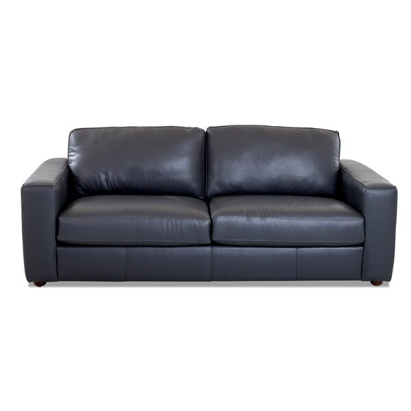 Find A Wide Selection Of Lotte Leather Sofa by Birch Lane Heritage by Birch Lane�� Heritage