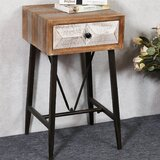 Medfield End Table with Storage by Union Rustic