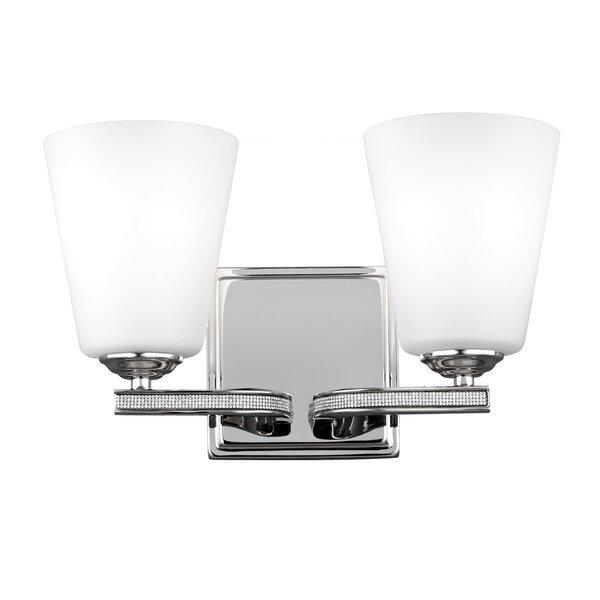 Havilland 2-Light Vanity Light by House of Hampton