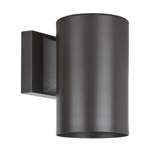 Comparison Architectural 1-Light Outdoor Sconce By Sunset Lighting