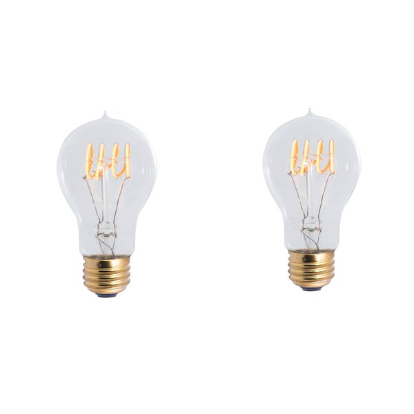 4W E26 Dimmable LED Light Bulb (Set of 2) by Bulbrite Industries