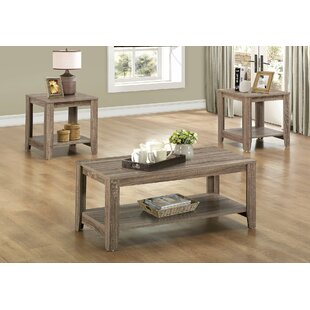 Jalen 3 Piece Coffee Table Set  sc 1 st  Wayfair : coffee tables sets - pezcame.com