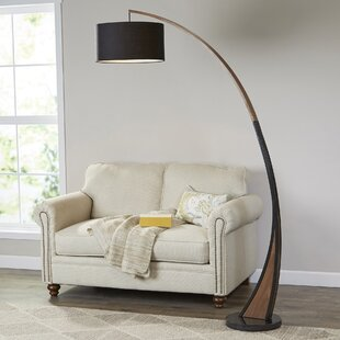 Arched floor lamps youll love wayfair mikonos 77 led arched floor lamp mozeypictures Image collections