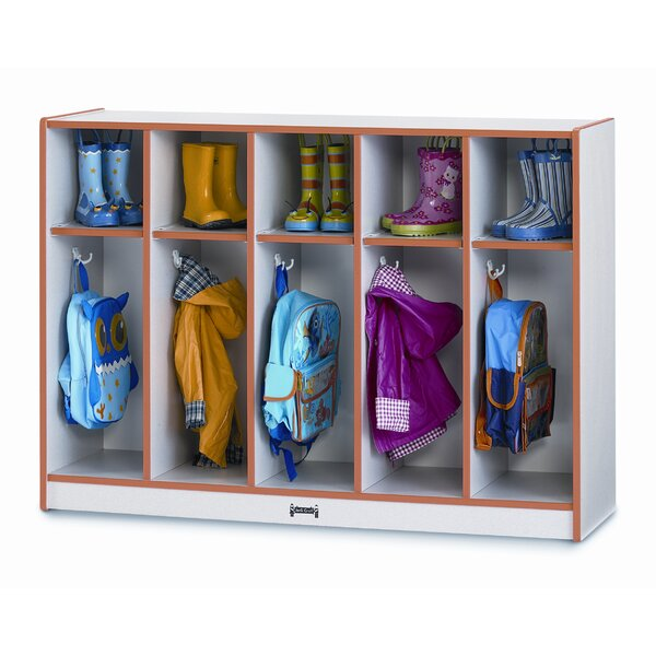2 Tier 5 Wide Coat Locker by Jonti-Craft