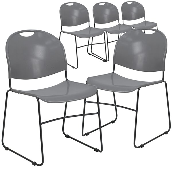 Laduke Armless Stacking Chair (Set of 5) by Symple Stuff