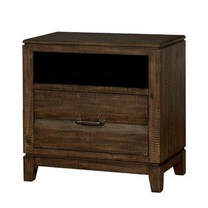 Michaelson Transitional 1 Drawer Nightstand by Gracie Oaks