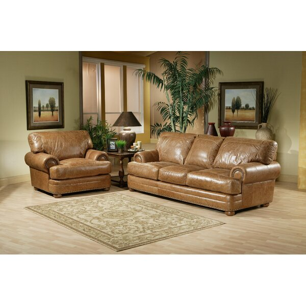 Houston Sleeper Leather Configurable Living Room Set by Omnia Leather