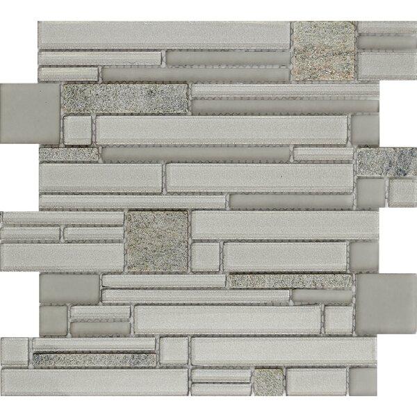Entity Spirit Glass/Stone Mosaic Tile in Spirit by Emser Tile