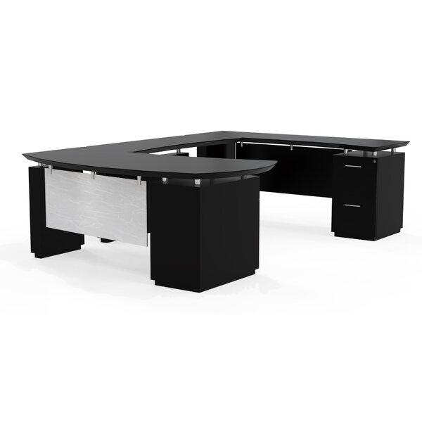 Sterling U-Shape Executive Desk by Mayline Group
