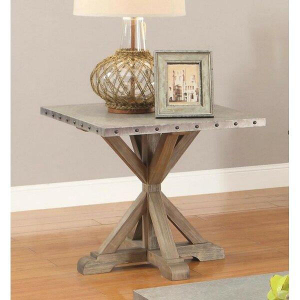 Fabienne End Table by Gracie Oaks