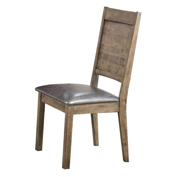 Spicer PU Side Chair (Set of 2) by Loon Peak