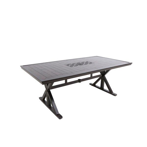 Bungalow Rectangular Aluminum Dining Table by Paula Deen Home
