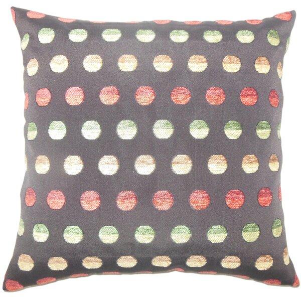 Clark Polka Dots Floor Pillow by Brayden Studio