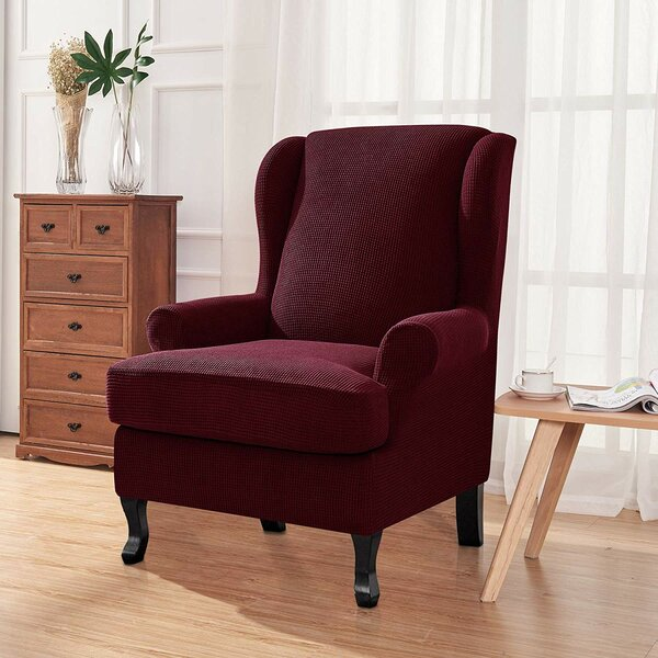 T-Cushion Wingback Slipcover By Red Barrel Studio
